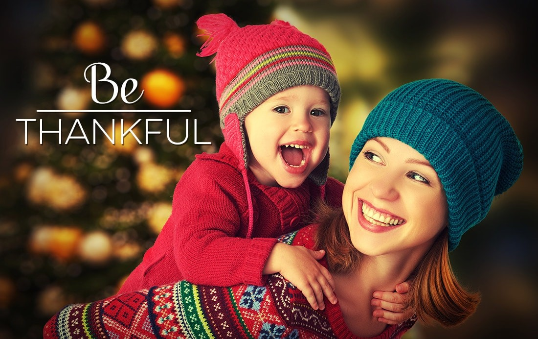 Take Time This Season To Be Grateful