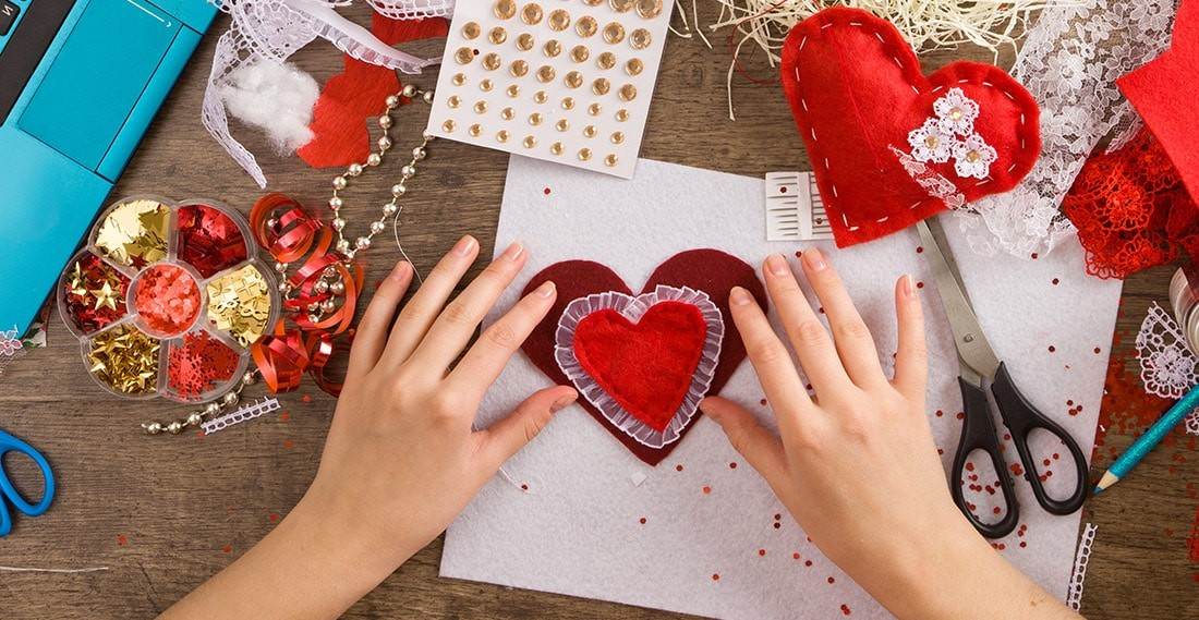 Do It Yourself This Valentine's Day With These Fun Ideas