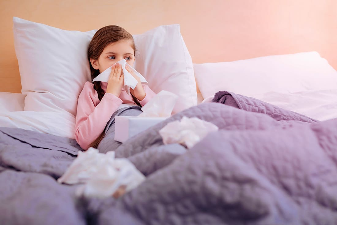 Helping Your Child Battle The Flu Bug